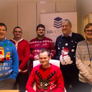 Christmas Jumpers Team Photo
