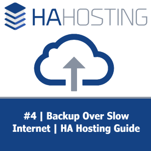 Thumbnail for #4 video guide - backing up over slow internet