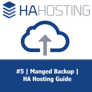 Thumbnail for HA Guide #5 - Managed Backup