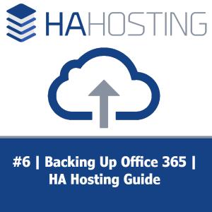 Thumbnail for HA Hosting Backup Guide #6
