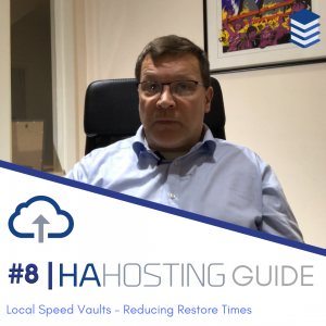 Thumbnail for blog version of #8 HA Hosting Guide on Speed Vaults