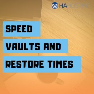 speedvaults and restore times thumbnail