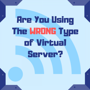 Are you using the wrong type of virtual server blog banner