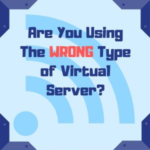 are you using the wrong type of virtual server thumbnail