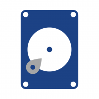 Hard Disk Graphic