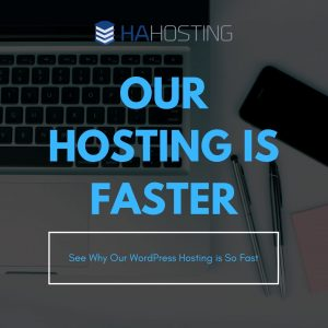 our hosting is faster thumbnail
