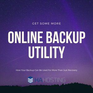 Online backup utility
