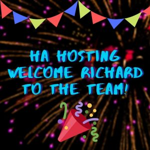 Richard join the HA Hosting Team