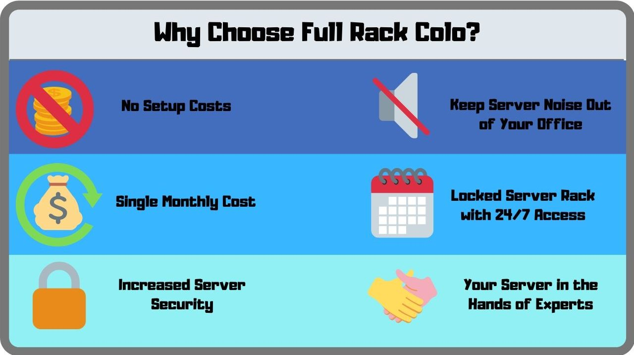benefits of full rack colo