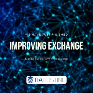 Improving exchange platform for increased resilience