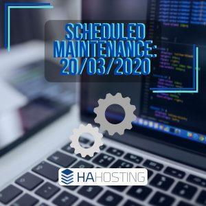 Scheduled maintenance: upgrading exchange