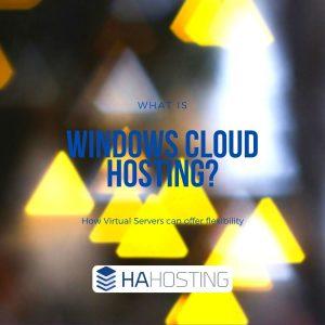 what is windows cloud hosting?