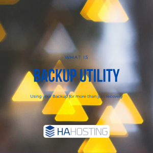 Using your Online Backup Utility for more than just recovery