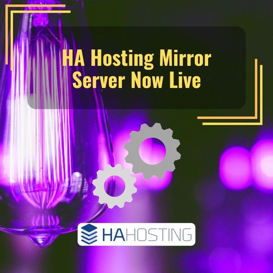 ha mirror server now live