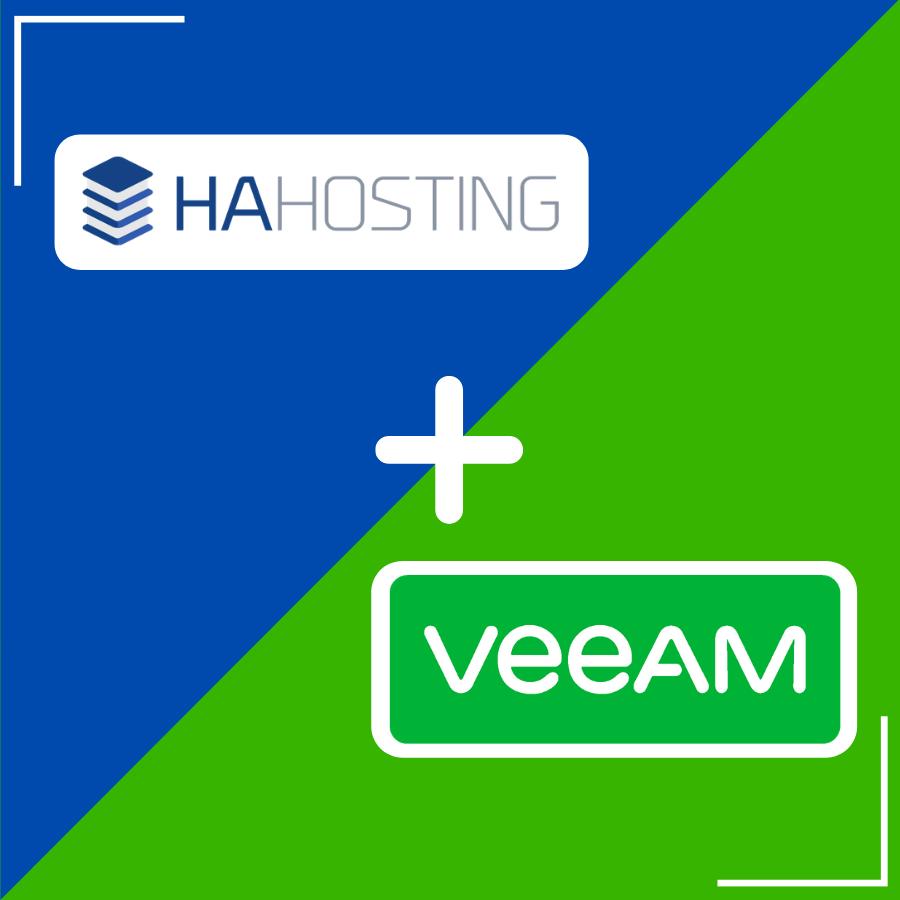 HA Hosting Partnering with Veeam